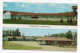 Cpsm - Fensels Hotel - Yankton - South Dakota - (USA 1961 - 9x14 Cm) - Etats-Unis