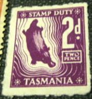 Tasmania Stamp Duty 2d - Mintd - Australia