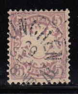 Bavaria Used Scott #40 5pf Coat Of Arms, Embossed - Bavière