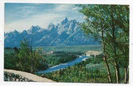 Cpsm - Grand Teton National Park - Wyoming - (USA 1961 - 9x14 Cm) - Zonder Classificatie