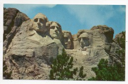 Cpsm - Mt. Rushmore National Memorial Black Hills - South Dakota - (USA 1961 - 9x14 Cm) - Mount Rushmore