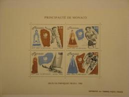 Monaco 1988 Yvert BF42 ** - Jeux Olympiques De Séoul -- Michel B40  --  Scott 1640  --  SG  MS1888 - Blocs