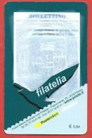 TESSERA FILATELICA ITALIA - 2008 - Centenario Della Federazione Nazionale Della Stampa Italiana - 6. 1946-.. Repubblica
