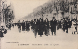TARRAGONA  CATALUÑA VIERNES SANTO VISITA A LOS SAGRARIOS SINDICATO DE INICIATIVAS - Tarragona