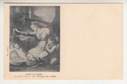 Arts - Peinture - Musée Du Louvre - Raphaël Sanzio - La Vierge Au Voile - Editeur: B.F - Paintings