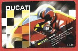 TESSERA FILATELICA ITALIA - 2008 - Moto Italiane - Ducati Desmosedici Gp7 - 1946-.. République
