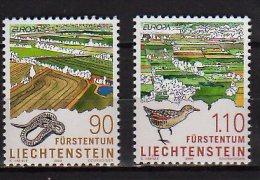 CEPT 1999  - Lichtenstein - Set Of  2 V -  Paper -  MNH** - Europa-CEPT