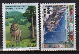 CEPT 1999  -Italy / Italien - Set Of  2 V  -  Paper -  MNH** - Europa-CEPT