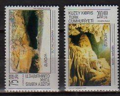 CEPT 1999  -Turkische Zypern / Northern Cyprus  - Set Of  2 V  -  Paper -  MNH** - Europa-CEPT