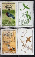 CEPT 1999  -Romania  - Set Of  2 V With Coupons  -  Paper -  MNH** - Europa-CEPT