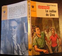 MJ318 Le Collier De Civa Bob MORANE De Henri VERNES Chez Marabout Junior - Books, Magazines, Comics