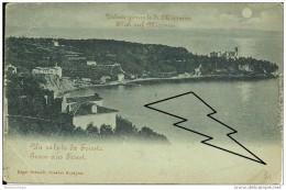 TRIESTE  Gruss Aus Triest  Veduta Di Miramare  Edgar Schmidt  Dresden Budapest  Viaggiata Per Cormons 1902 - Trieste