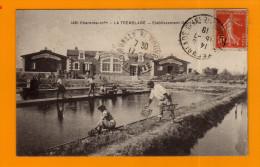 17--LA TREMBLADE --ETABLISSEMENT OSTREICOLE L. COLOMBIER--(THEME HUITRES MARENNES) ( CHAR 178 ) - La Tremblade