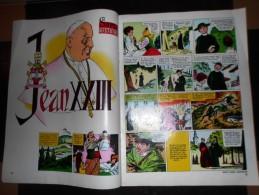 HISTOIRE COMPLETE FEUILLET PAPE JEAN XXIII 23 - Collections