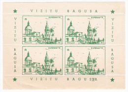 Vignettes Esperanto - Vizitu Ragusa - Esperanto