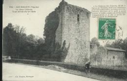 LES ESSARTS - LE  VIEUX CHATEAU TOUR CARREE DU XI  SIECLE -  VIAGGIATA - - Les Essarts