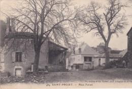 SAINT-PROJET  Place Foirail - Autres Communes