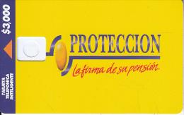 COLOMBIA(chip) - Proteccion, Telepsa Telecard, Tirage 20000, Dummy Telecard(no Chip, No CN) - Colombia