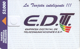 COLOMBIA(chip) - E.D.T., Telepsa Telecard, Tirage 70000, Dummy Telecard(no Chip, No CN) - Colombia