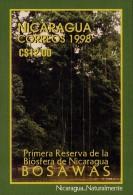 NICARAGUA NATURE RESERVES Sc 2225 IMPERF MNH 1998 - Nicaragua