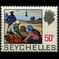 SEYCHELLES 1969 - Scott# 263 Pirates 50c MNH (XW493) - Seychellen (1976-...)