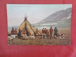 Eskimo Family Greenland  Ref 1715 - Groenlandia