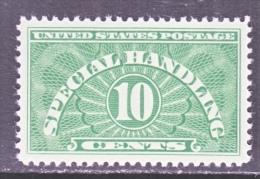 U.S.  Q E 1    ** - Parcel Post & Special Handling