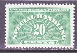 U.S.  Q E 3    ** - Parcel Post & Special Handling