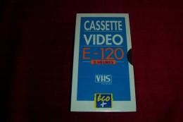 CASSETTE VIDEO E 120  2 HEURES VHS NEUF SOUS CELOPHANE - Autres