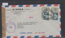 O)1951 MEXICO, ARCHEOLOGY, SAN LUIS DE POTOSI, CENSORSHIPS, COVER TO AUSTRIA - Mexico