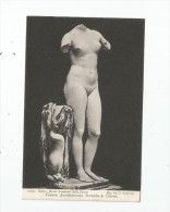 Cp , Art , Sculpture , Nue , Venere Anadyomene , Trovata A Cirene , Vierge - Sculptures