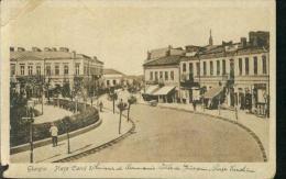 Giurgiu Romania Piata Carol I. Shop Geschäfte 6.3.1919 - Roumanie
