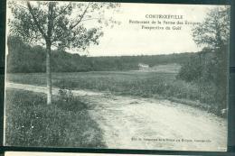 Contrexeville - Restaurant De La Derme Des évêques , Perspective Du Golf  - Faq90 - Vittel Contrexeville