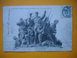 Cpa LE MANS  -  72  -  Bas Relief De La Statue Du Général Chanzy  -  Sarthe - Le Mans