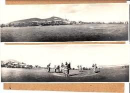 2 PHOTOS  DE PRESSE 10 CM PAR 28 CM  YOURTE CAVALIER MONGOLIE A LA VELLE D UNE FETE TEHAMEN 1920 CHINE - China