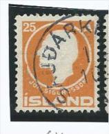 ISL003 - ISLANDA - N. 67- 25 A. EFFIGIE DI RE FEDERICO VIII - CAT. UNIFICATO - Oblitérés
