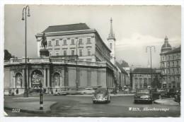 Wien,Albrechtsrampe Mit VW Käfer,Mercedes Ponton 1961 - PKW