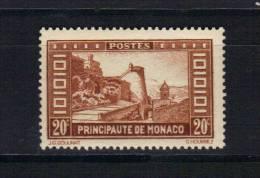 Monaco Timbre De 1933/37  N°120   Timbres  Neuf * Tres Légère Charnière - Unused Stamps