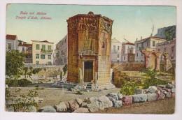 CPA ATHENES, TEMPLE D EOLE En 1915!! - Grèce