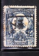Haiti 1904 President Pierre Nord-Alexis 5c Used - Haïti