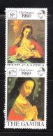 Gambia 1980 Christmas 2v MNH - Gambie (1965-...)