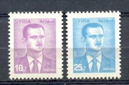 S** MIDDLE EAST * SERIE 2v * YEAR 2011 * DEFINITIVES * MNH - Syrië