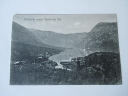 AK Österreich / Bosnien-Herzegowina. 1909. Bohinjsko Jezero. Wocheiner See. Panorama. Fotogr. A. Vengar - Bosnie-Herzegovine