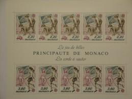 Monaco 1989  Yvert B46  ** - Europa Jeux D'enfants --  Michel B44  --  Scott  1683a - Blocs