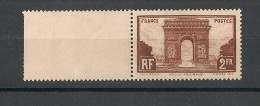 France N°258 - Arc De Triomphe - Neuf Luxe ** - MNH - Postfrisch - Cote 95 EUR - Nuovi