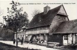 Environs De FORGES-les-EAUX Type De Ferme Normande Au Château Du Fossé (C7838) - Forges Les Eaux