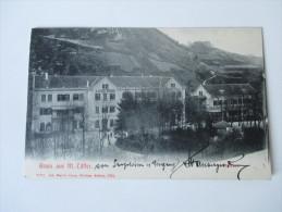 AK Österreich / Slowenien. 1905 (?) Gruss Aus Markt Tüffer. Kaiser Franz Josefs Bad. Strichstempel. Joh. Martin Lenz - Slowenien