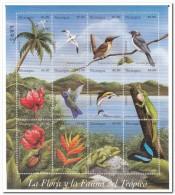Nicaragua 1998, Postfris MNH, Flowers, Birds, Annimals, Correos 98 - Nicaragua