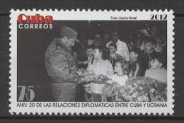 C* (2012) Yv. 5028  /  Ukraine Relationship - President - Cuba