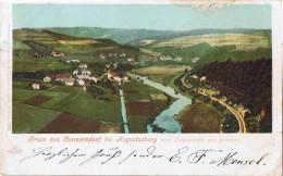 "B004 Ak Cunnersdorf Bahnpost ""CHEMNITZ-ANNABERG(ERZGBGE)"" 1901 - Germany"